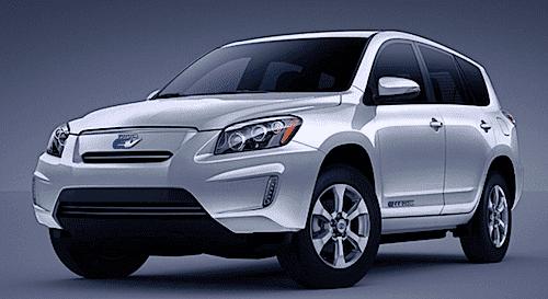 Toyota RAV rafbíll